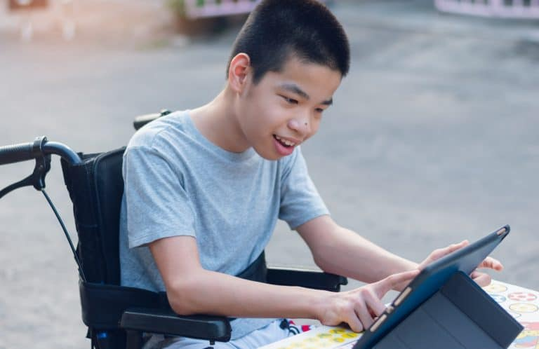 Skills development of children with disabilities